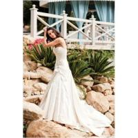 China Charming Strench Satin Sweet Heart Beaded Wedding Dress (HQ-2760) on sale