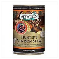 Best Addiction Venison Stew Dog Food - Case of 12 wholesale