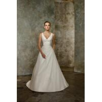 Best V Neck Pleated Taffeta Beading Sexy Bridal Gowns 2012 Sale wholesale