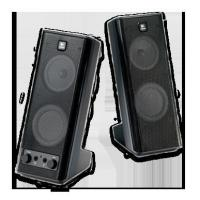 China Logitech X-140 Speakers on sale