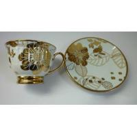 China G0105007|gold plated ceramic cup set on sale