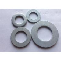 Best Metric Carbon Steel Flat Washers , Industrial Round Plate Washer DIN 125 wholesale