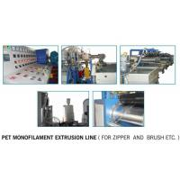 China Polyester (PET) Monofilament Extrusion Line on sale