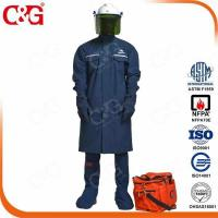 China HRC II 12cal Electrical Protective Clothing Electrician Uniform/flame retardant jacket on sale