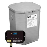 China Hubbel HBL100AITSSB 25kVA 60Hz Isolation Transformer W/Boost on sale