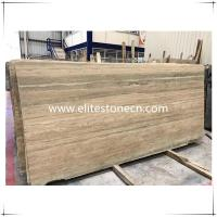 Best ES-T01 Italy Silver Grey Travertine marble floor and wall tiles in factory prices wholesale