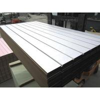 plywood slotted MDF