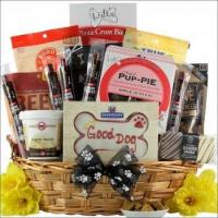 Pawsitively Delicious Doggy Gift Basket