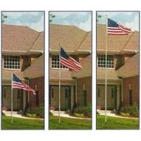 China 20 FT. TELESCOPING FLAG POLES - MADE IN THE USA on sale