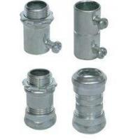 China Waterproof Rigid Aluminum Conduit Fittings , CNC Lathes EMT Conduit Compression Fittings on sale