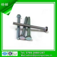 Best galvanied non-standard hex head machine screw in China wholesale