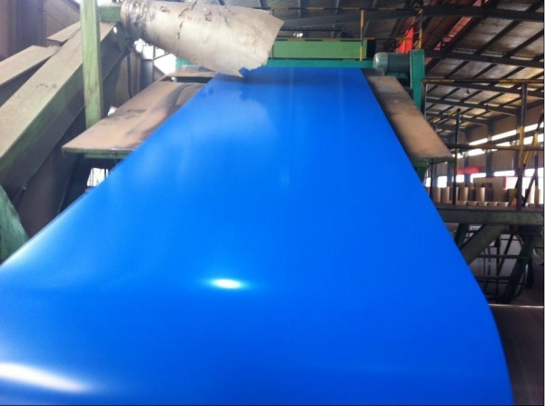 China prepainted steel sheet