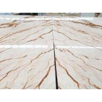 Best Golden dragon marble, hot sell white marble with gloden dragon veins, large projects material wholesale