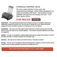 Best Hydraulic Control Valves for Forklift wholesale