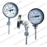 Double metal thermometer