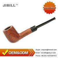 Wholesale 9mm Active Charcoal Wood Tobacco Pipes for Smoking Weed ad0002