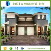 Light steel frame sandwich panel beautiful design 3 bedrooms prefab home