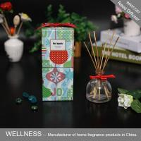 Buy cheap Reed diffuser with rattan stickers and colorful box-WNA17267 from wholesalers
