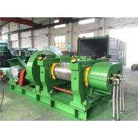 16 Inch XKP-400 Plastic EVA Rubber Crusher Mill with Double Groove Rolls