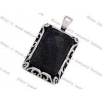 Stainless Steel Stone Pendant DPZY47760