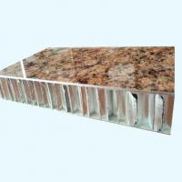 25mm Thick Fireproof Stone Look Aluminium Honeycomb Composite Panels for Wall Facades and Partitions