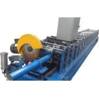 Full Automatic Downspout Roll Forming Machine With 0 - 15m / Min Forming Speed