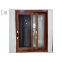 Best Red Subframe Powder Coated Aluminium Windows And Doors For Commercial / Villa wholesale