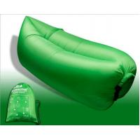 Best Outdoor Fast Inflatable Laybag Air Sleeping Lazy Bag Hangout Lounger Sofa wholesale
