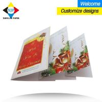 Best China custom paper greeting card postcard printed card gift card christmas card wholesale