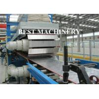 Best Continuous Foam PU Sandwich Panel Production Line 25mx2.2mx2.5m Dimention wholesale