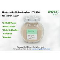 Best High Concentration Alpha Amylase Enzyme 40000 U / g Superior Stability Optimal PH 5.4 To 6.0 wholesale