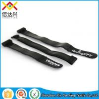 Best Silicone Rubber Adjustable Hook and Loop Anti Slip Strap with Logo wholesale