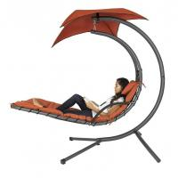 Best Hanging Chaise Lounger Chair Arc Stand Air Porch Swing Hammock wholesale