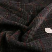 Best Alexander Henry Black, Red and Green Wool Coating wholesale