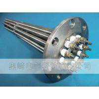 High power electrothermal pipe flange