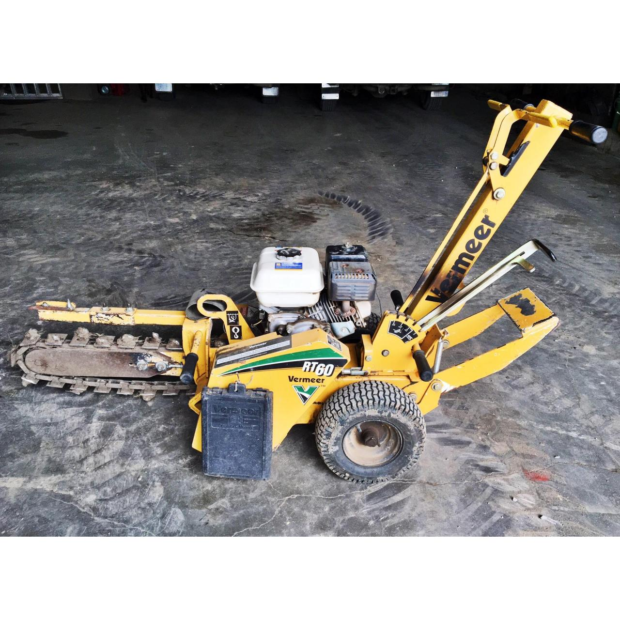Chain Trencher Rental- $100/day