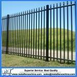China Welded Wire Mesh Fence BT-022Tow rails wrought iron fence Model No.: BT-022 on sale