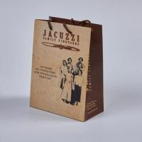 Factory Custom craft paper tote coffee lunch food bag