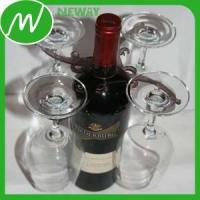 Best Plastic Gear Latest Promotional Plastic Wine Glass Holder On Bottle wholesale