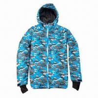 China Men's Ski Jackets, Used for Outdoor/Winter, Great for Snowboarding, Tough, Comfortable on sale