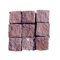 Best Red sandstone cube stone wholesale
