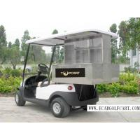 China 2 Person Custom Electric Golf Carts Stainless Steel Material For Food Transportation on sale