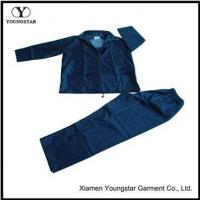 Buy cheap Cheap Two Piece Mens Polyester Rain Suit Gear For Fishing from wholesalers