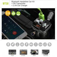 Buy cheap Bluetooth Car kit FM Transmitt from wholesalers