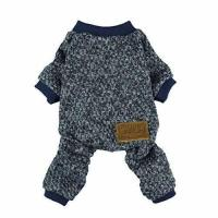 China Fitwarm Knitted Thermal Pet Clothes for Dog Pajamas PJS Coat Jumpsuit, Medium on sale