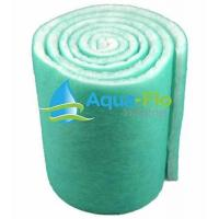 "Best Aqua-Flo 12"" Pond & Aquarium Filter Media, 72"" 6 Feet Long x 1"" Thick Green/White wholesale"