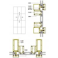 Best 160 Drawing of Exposed Frame Insulating Curtain Wall wholesale
