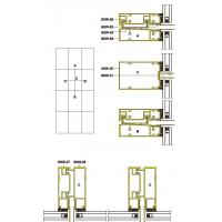 Best 131 Structural Drawing of Hidden Frame Unitized Curtain Wall wholesale