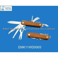 China Multi knife with wood handle (EMK11WD0005) on sale
