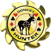 Best Donkey Hunter Spinners Poker Coin Card Guard Cover wholesale